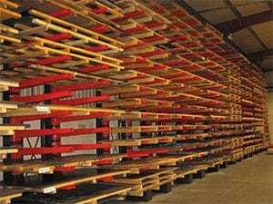 Industrial Racking Storage for Sheet Metals Materials