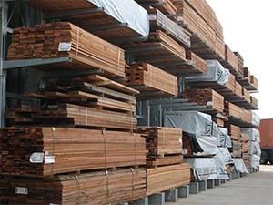 Galvanised External Timber Merchant Cantilever Racking